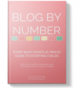 Blog by Number - Step by Step course for blog success by Suzi Whitford